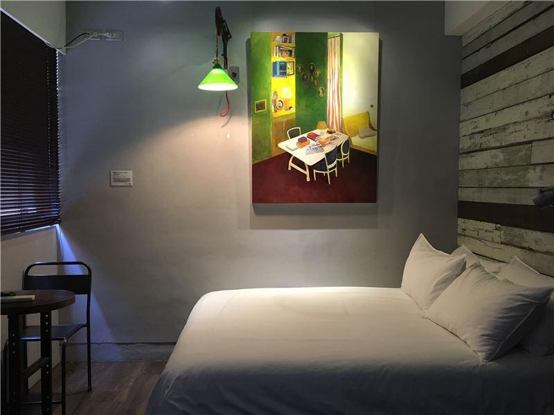 未艾公寓藝術房間_陳亭君《一個黃色的房間》