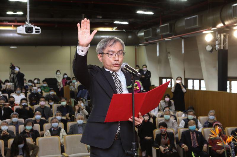 文化資產局長陳濟民宣誓