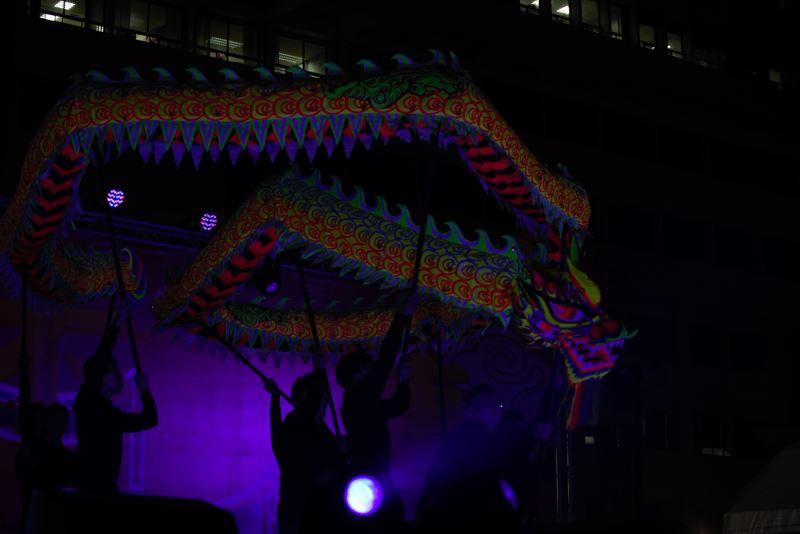 雷昇傳藝劇團帶來登龍門-夜光龍陣演出