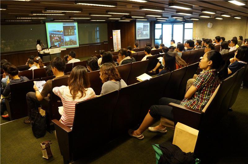 臺南市103年度社會學習領域輔導小組實施計畫研習,推廣臺史博學校學習。