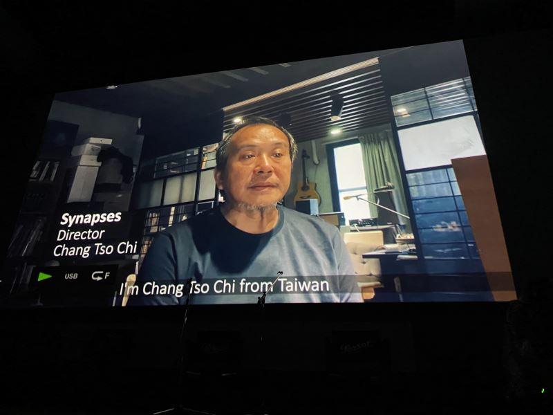 導演張作驥獲獎感言錄影