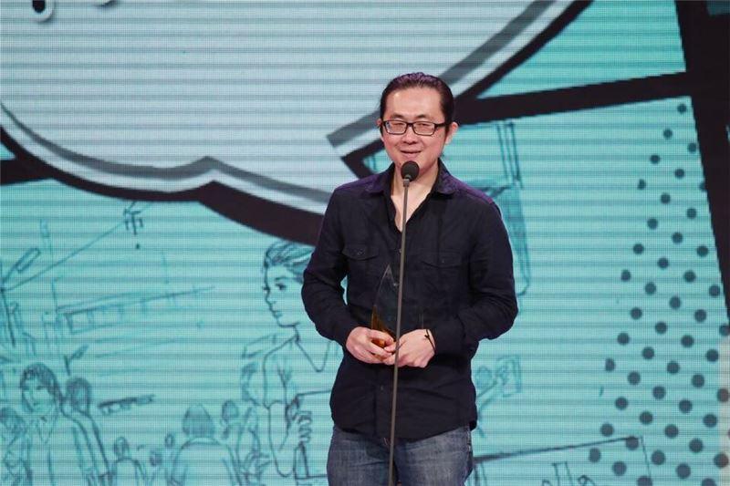 20150804阮光民以「天國餐廳(2)、(3)」獲青年漫畫獎