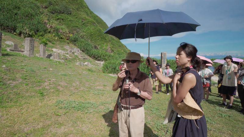 《人權路上》影片截圖02主角之一蔡寬裕前輩