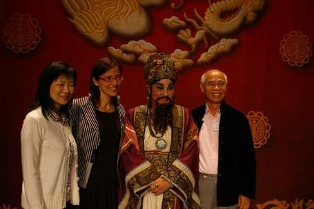 兩位編劇與國王學院Sonia教授。