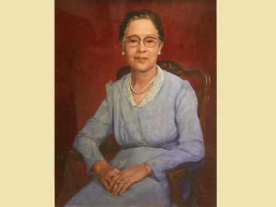 05台北市西畫女畫家畫會創始會員周月坡