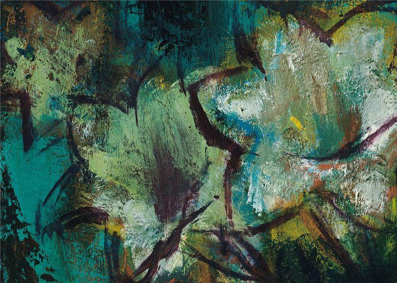 CHIN Jun-tso〈Lilies-II〉Detail