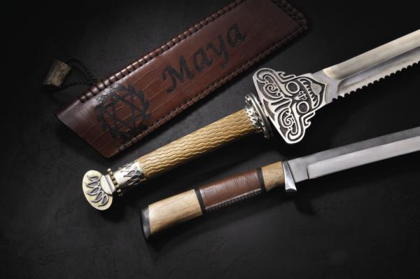 馬雅神劍、馬雅神刀刀劍