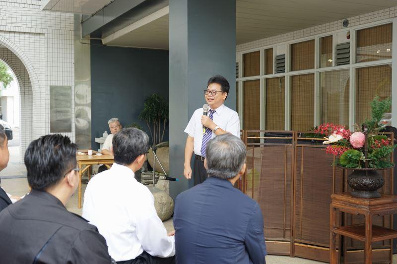 工藝中心陳泰松副主任致詞