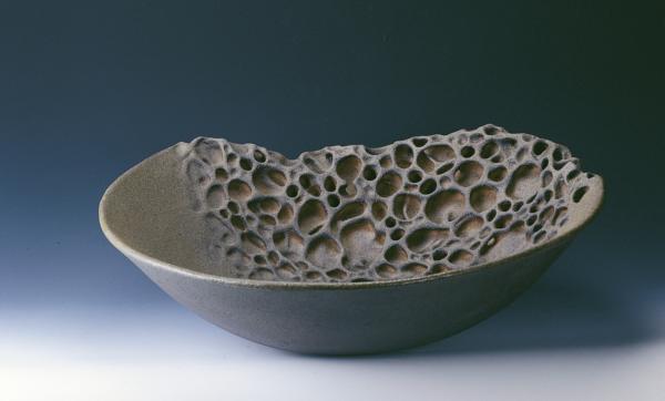 「佳洛水」系列中的手捏陶盤