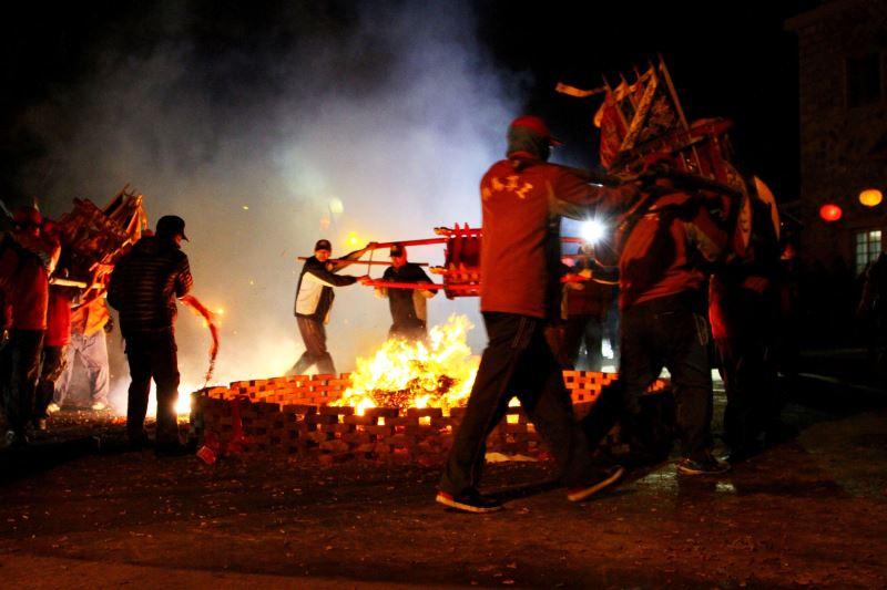 馬祖北竿的燒馬糧除了有祭拜白馬王神祇及酬謝其座騎外,也有祈求新的一年國泰民安、風調雨順的意涵。