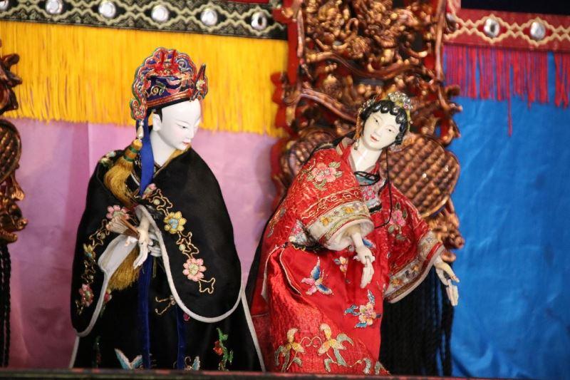 Taiwanese glove puppets.