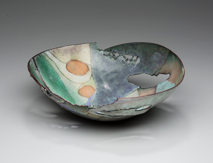 Enamel art by Judy Stone.