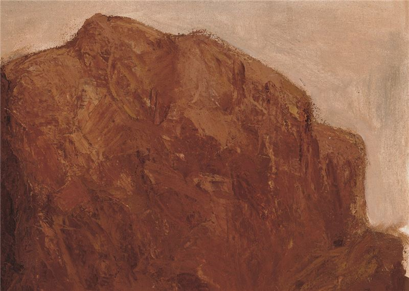 Liu Gung-yi〈Rocks〉Detail