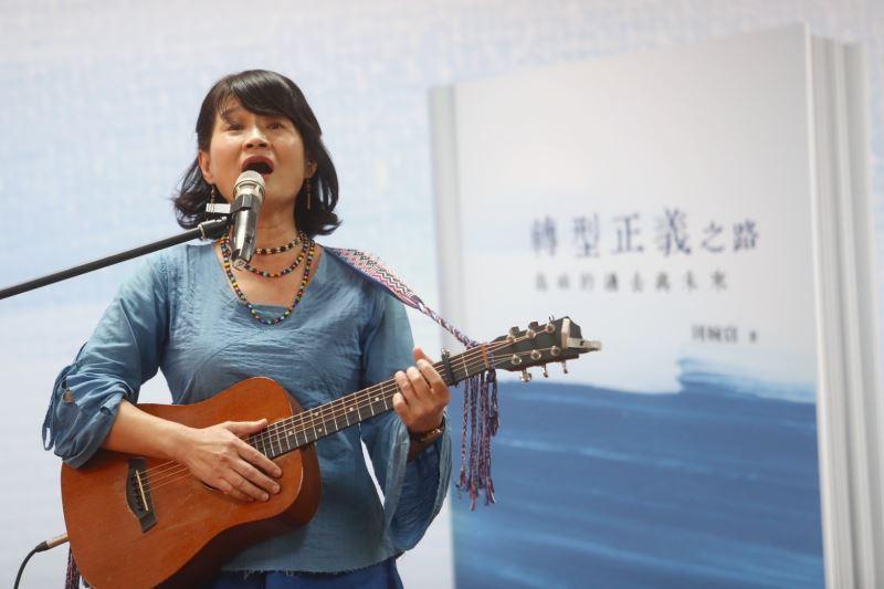 歌手羅思容演唱以白色恐怖為背景的創作歌曲《芭蕉》