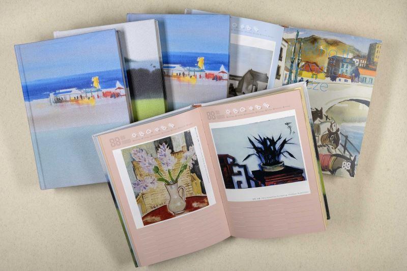 國美館為紀念席德進逝世四十週年,推出「席德進-萬用筆記本」