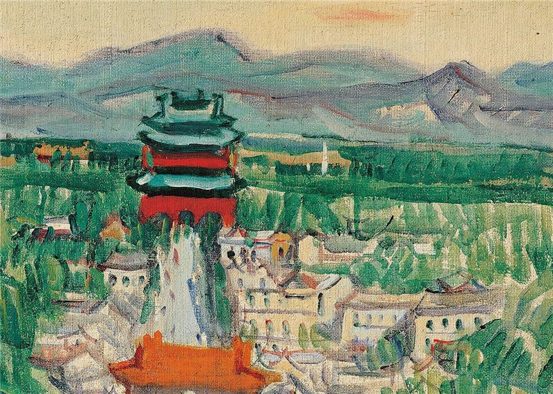 Kuo Po-chuan〈The National Palace Museum〉Detail