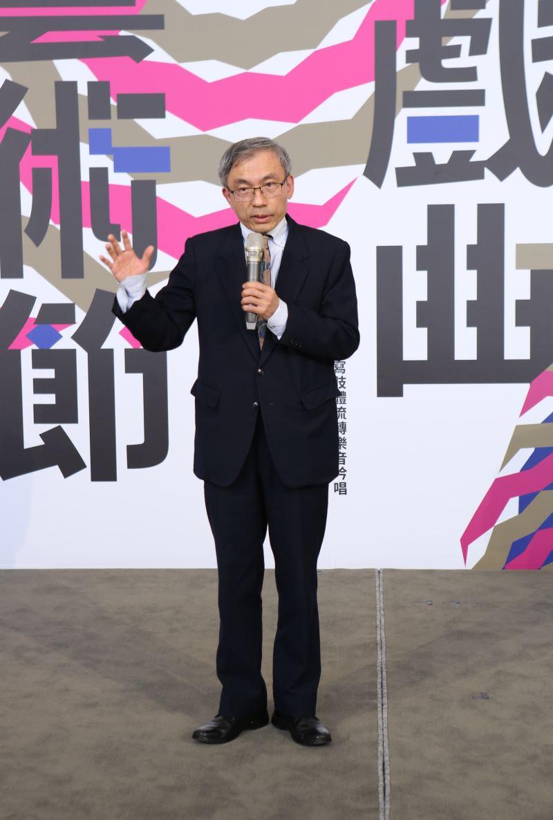 國立傳統藝術中心陳濟民主任期許臺灣戲曲藝術節創造臺灣在地的共同記憶