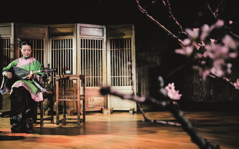 2019年王心心在TIFA臺灣國際藝術節,帶來以「花」為主題的宋詞《蝶戀花》全新創作。