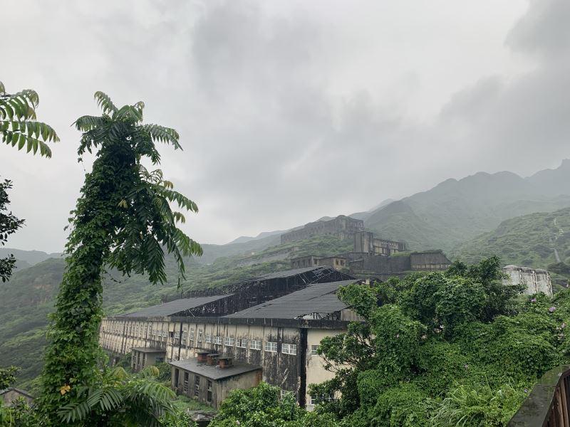 Las ruinas de la refinería Shuinandong.
