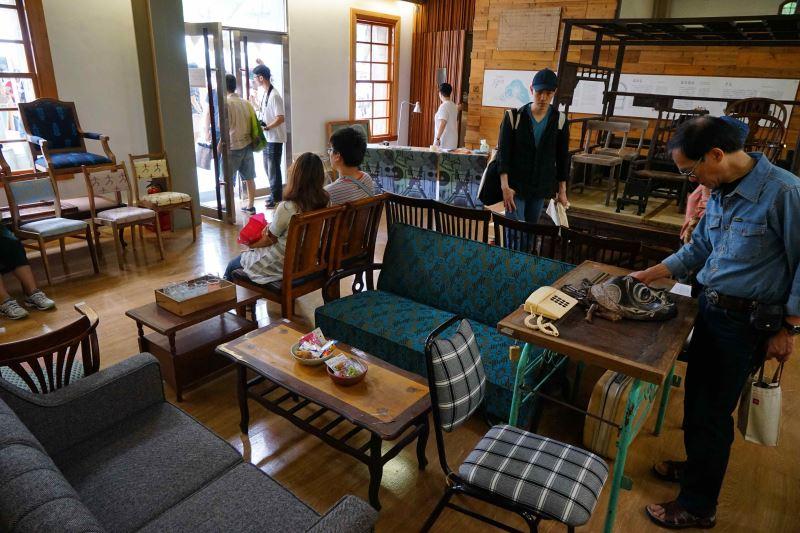圖1購舊好市集為老舊家具再造新風貌