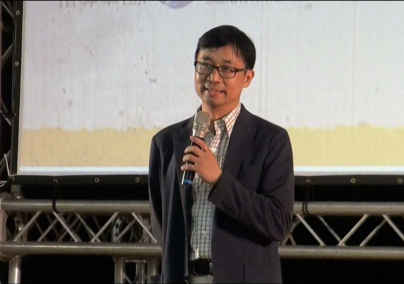 國家人權博物館陳俊宏館長致詞。