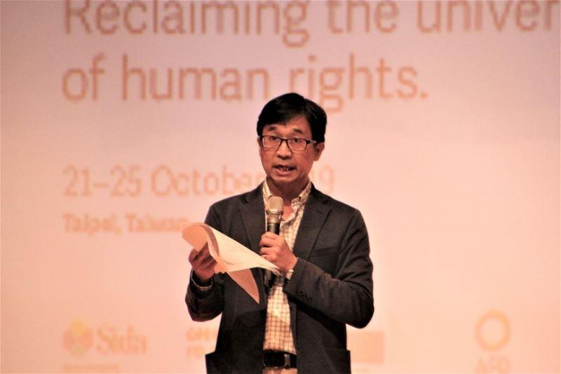 Museum Director Chen Chun-hung.