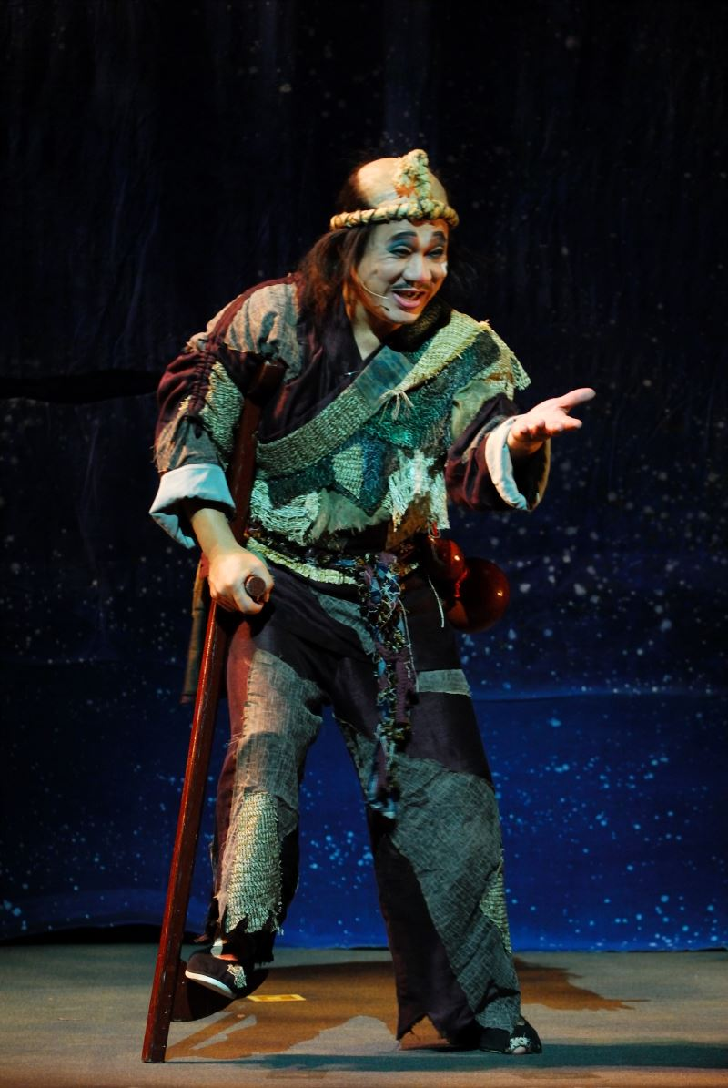 陳勝在雕琢的三花演技在《蓬萊大仙》中備受肯定。