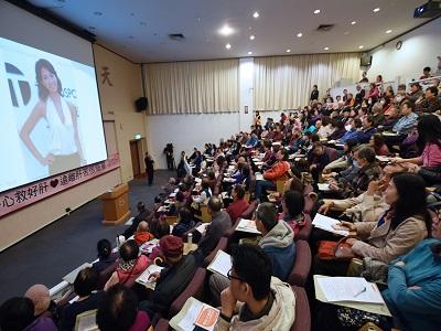 許金川教授於國父紀念館「好心救好肝_遠離肝苦很簡單」演講全場爆滿