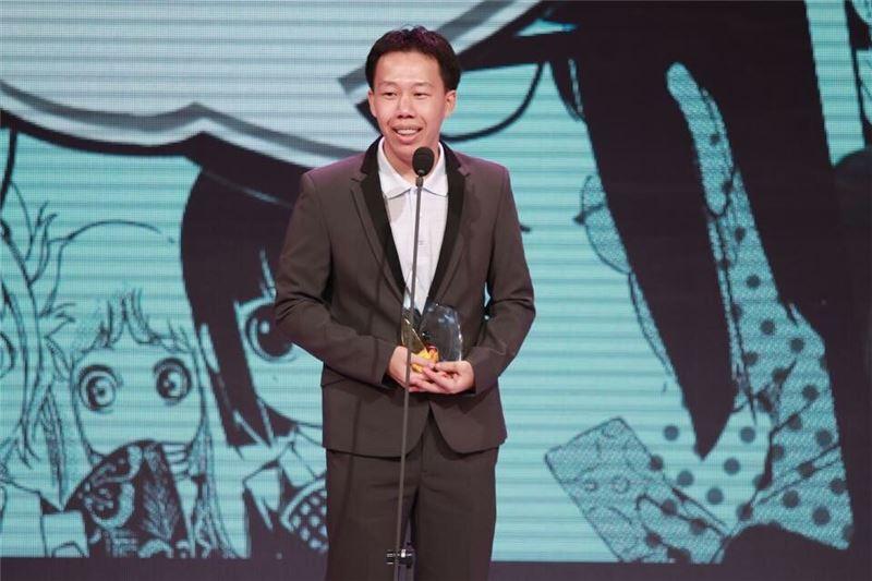 20150804韋宗成以「六都爭霸:台灣縣市攻略物語」獲單元漫畫獎