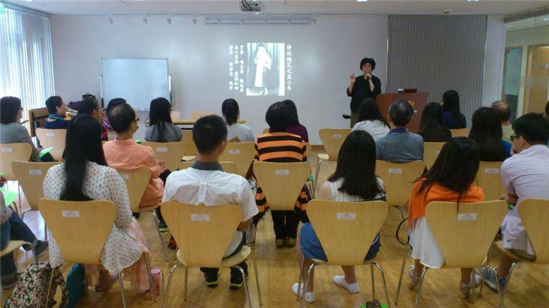 12月20日於香港中文大學辦理推廣講座,由王藝術總監安祈主講。