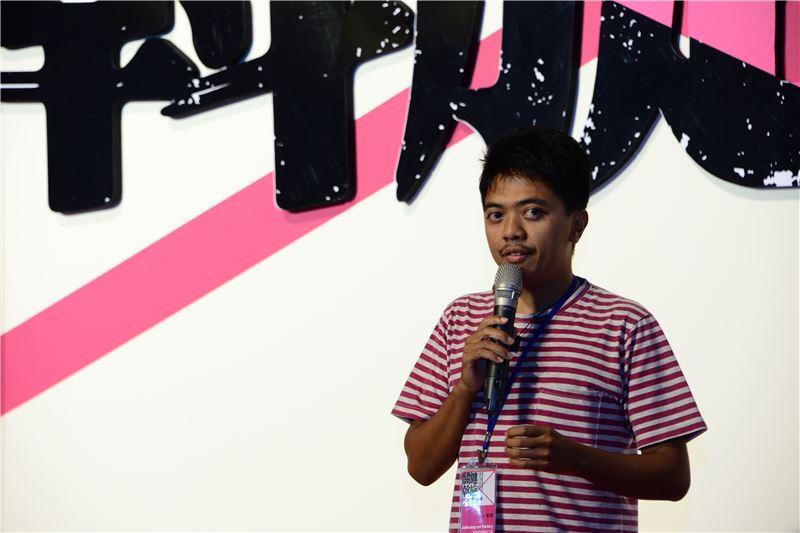 參展藝術家Jatiwangi art Factory代表致詞