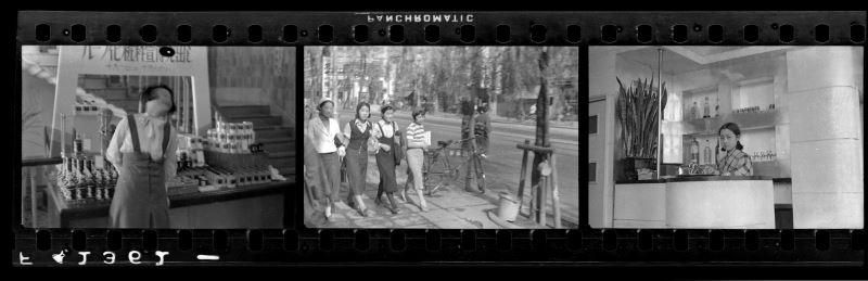 鄧南光〈東京時期街頭速寫〉1930年代,原作為底片膠捲數位化,135底片規格(2)_c國家攝影文化中心