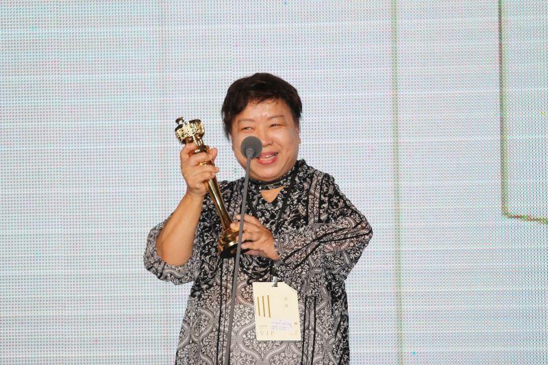 第42屆金鼎獎特別貢獻獎得主-九歌出版社總編輯陳素芳女士
