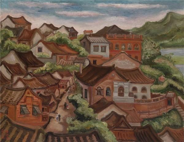 1935 - Tamsui Scenery / 淡水風景