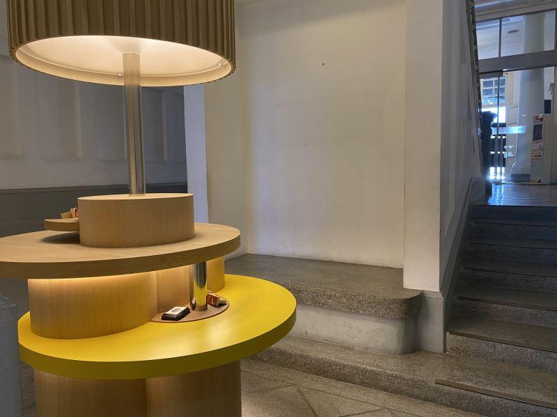 臺文館再造嶄新空間,將長梯下變身DIY創意空間