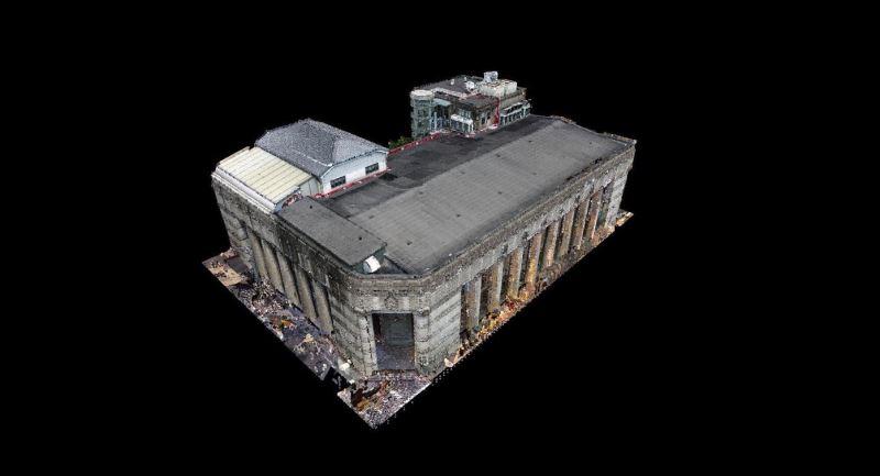 國立臺灣博物館展示近期完成建築3D掃描成果2