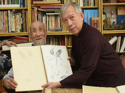 杜簦吟老師展示素描習作