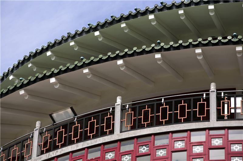 臺北分館七樓外觀