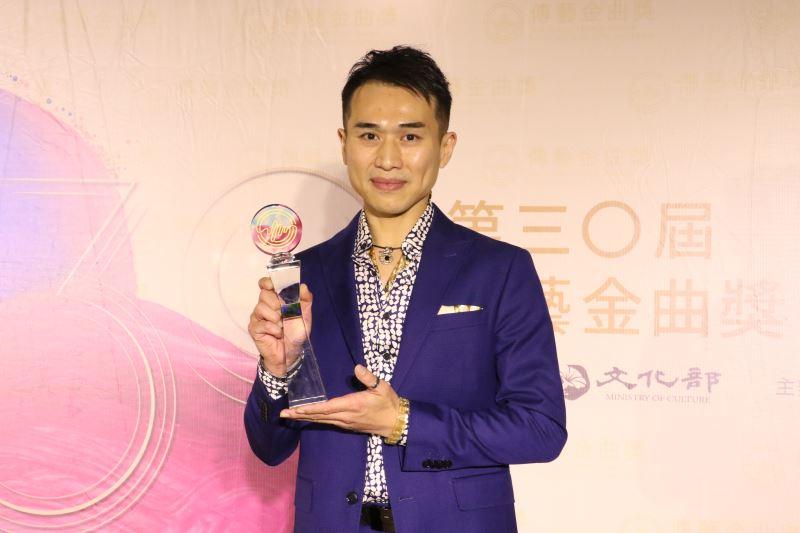 Opera actor Ellvan Ku Yi-fan.