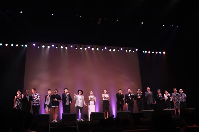 給島嶼和世界的歌 台日歌手大合唱  照片提供:Vocal Asia 人聲樂集