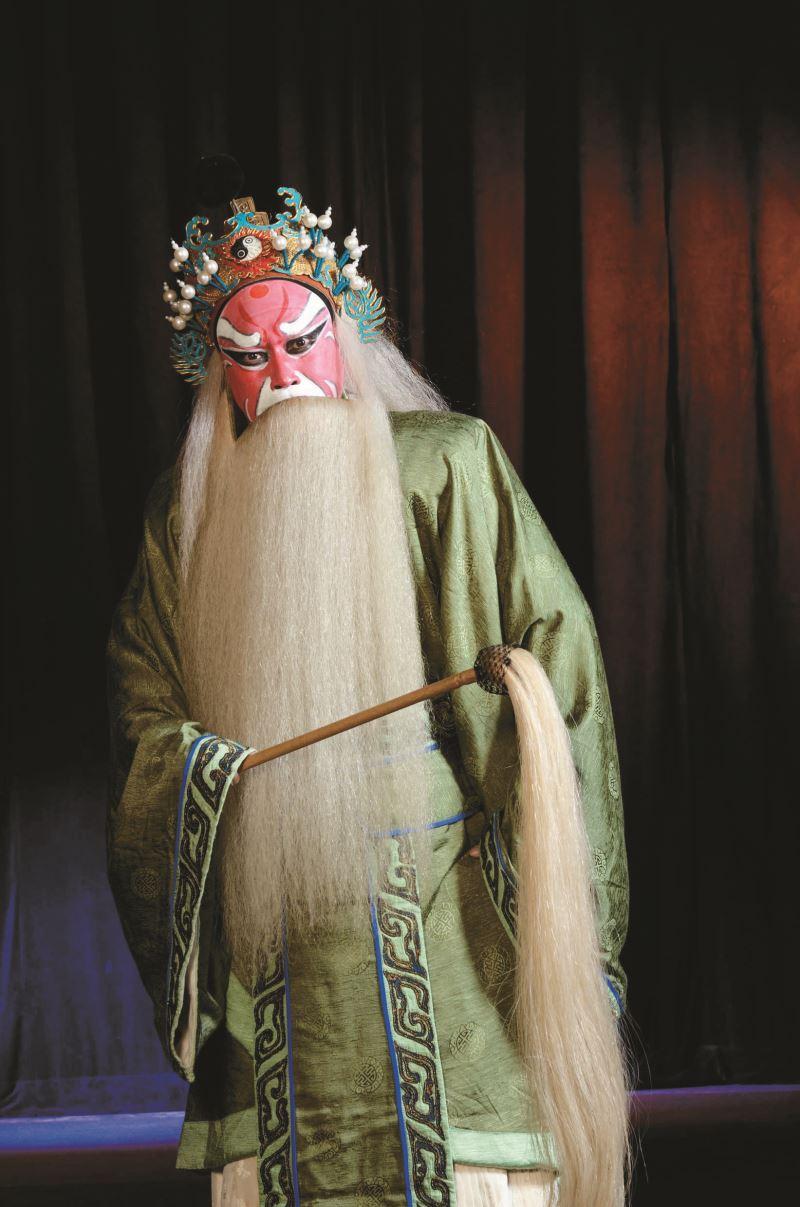 《八百八年》丁揚士飾姜尚。