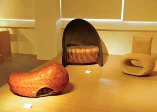 A permanent crafts exhibit