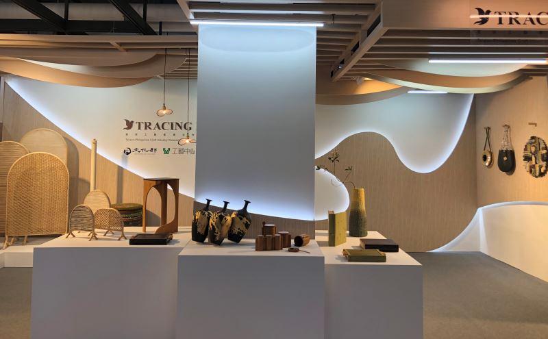 臺灣菲律賓工藝產業合作展一隅