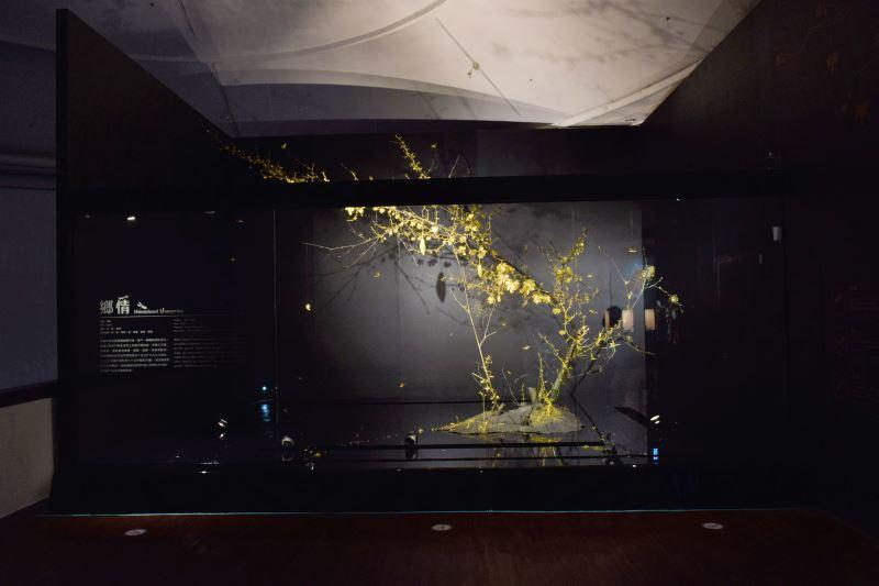 傳藝中心最大量體金雕作品,委託藝術家吳卿以15公斤9999純金、80公斤白銀、60公斤青銅創作出栩栩如生的鄉間景致。