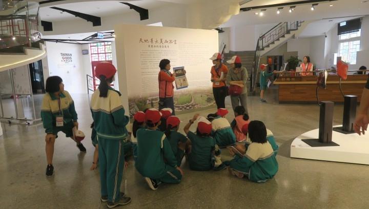研揚藝術光點活動來自彰化縣大興國小同學的見學之旅志工服務剪影