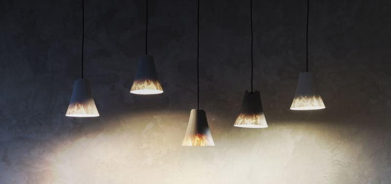 軟水泥生活實驗室(CELEMENT LAB)_山石軟泥燈