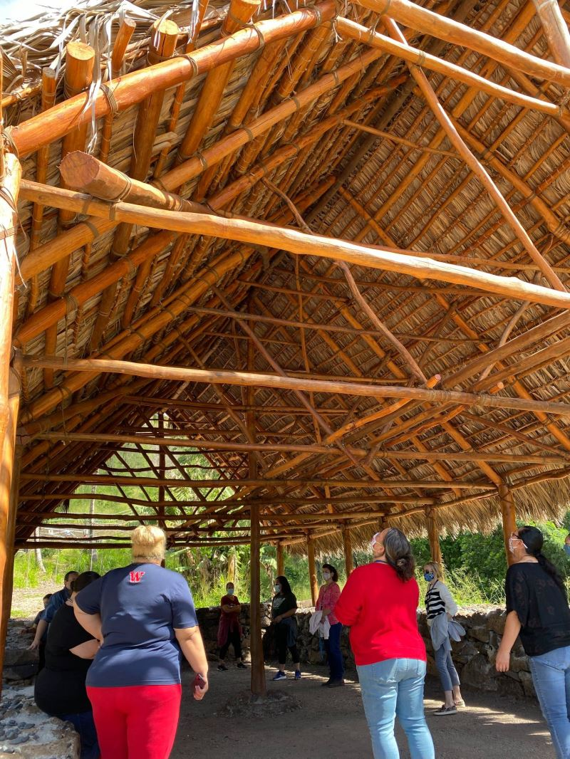 夏威夷卡美哈美哈學校為一所私人學校,是夏威夷原住民族的文化教育場域
