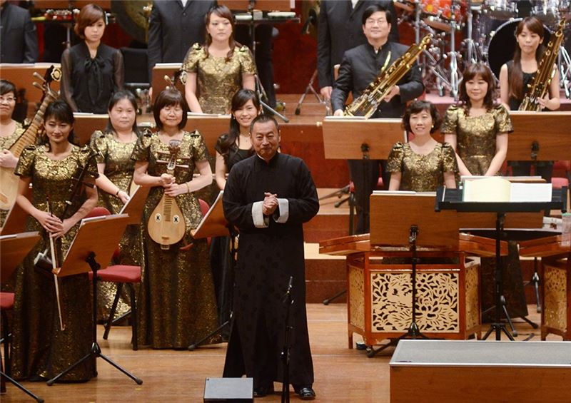 Performance of Golden Snake Dance,Conductor: Su Wen-cheng