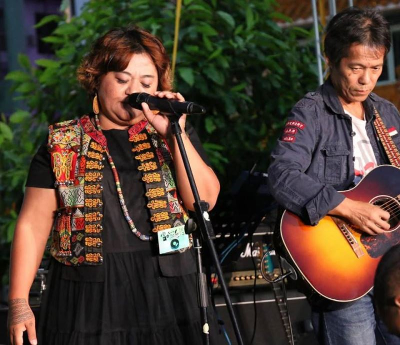 Paiwan songstress Seredau.