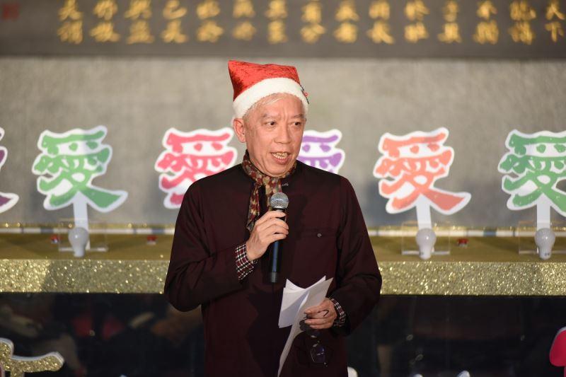 「點亮世界的愛・智能耶誕點燈儀式」國父紀念館梁永斐館長致詞
